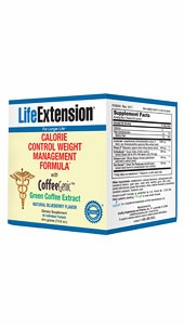Calorie Control Weight Management Formula with CoffeeGenic Green Coffee Extract by Life Extension - 420 Grams