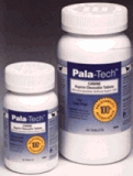 Canine Buffered Aspirin (for small & medium dogs) by Pala-Tech - 60 Chewable Tablets