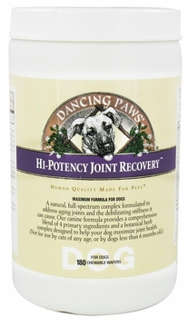 Canine Hi-Potency Joint Recovery by Dancing Paws - 180 Wafers