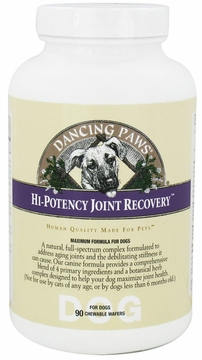Canine Hi-Potency Joint Recovery by Dancing Paws - 90 Wafers
