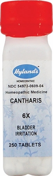Cantharis 6X by Hylands - 250 Tablets