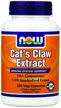 Now Foods Cat's Claw Extract - 120 Vegetarian Capsules