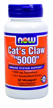 Now Foods Cat's Claw Extract - 60 Vegetarian Capsules