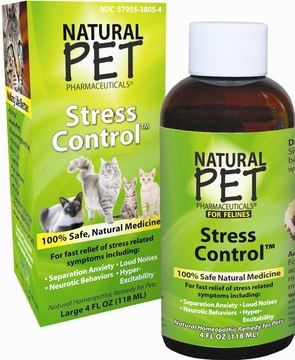 Cat Stress Control by King Bio - 4oz.