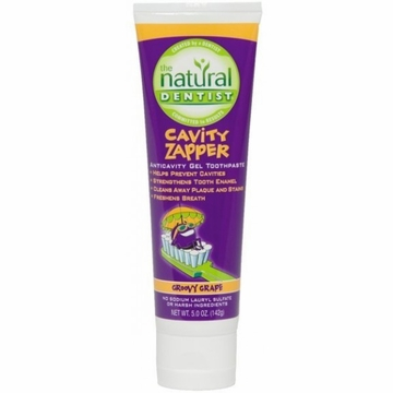 Cavity Zapper Anticavity Gel Toothpaste by Natural Dentist - 5oz.