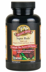 Certified Organic Super Reds by Purity Products - 90 Capsules