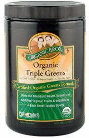 Certified Organic Triple Greens by Purity Products - 300g