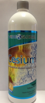 Cesium Homeopathic Cellular Health by Eniva - 1 Quart (946ml)