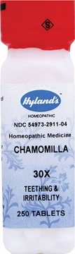 Chamomilla 30X by Hylands - 250 Tablets