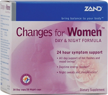 Zand Changes for Women Day and Night Formula - 60 Vegetarian Capsules
