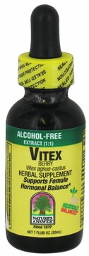 Chaste Tree Berry Alcohol Free by Nature's Answer - 1oz.