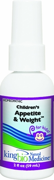 Children's Appetite and Weight Control by King Bio - 2oz.