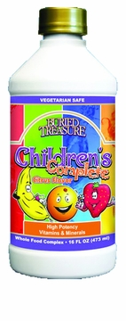 Children's Complete Vitamin Mineral Complex Fruit Splash by Buried Treasure - 16oz.