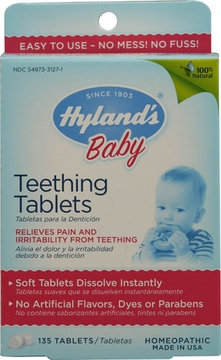 Children's Teething by Hylands - 135 Tablets