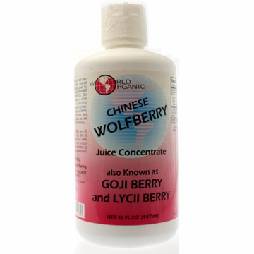 World Organics Chinese Wolfberry - 32 Fluid Ounces