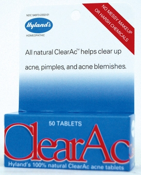 Clear-Ac by Hylands - 50 Tablets