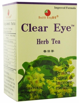Health King Enterprise and Balanceuticals Clear Eye Herb Tea - 20 Tea Bags