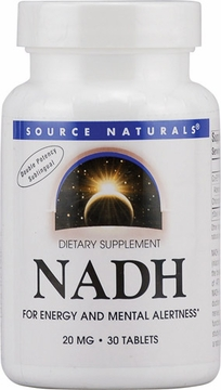 Source Naturals NADH Peppermint Sublingual 20 mg - 30 Tablets