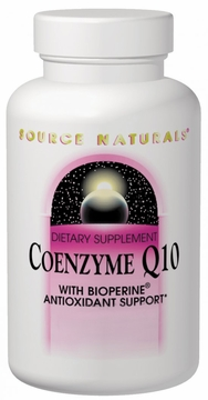 Source Naturals Coenzyme Q10 with BioPerine 100 mg - 60 Softgels