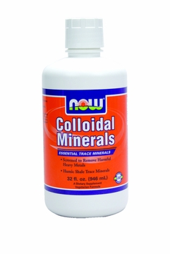 Now Foods Colloidal Minerals - 32 Fluid Ounces