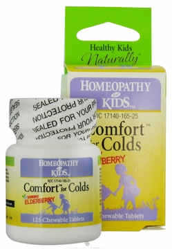 Comfort for Colds by Herbs for Kids - 125 Chewable Tablets