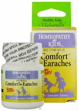 Comfort for Earaches by Herbs for Kids - 125 Chewable Tablets