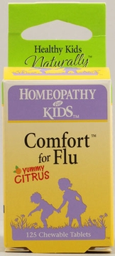 Comfort for Flu by Herbs for Kids - 125 Chewable Tablets