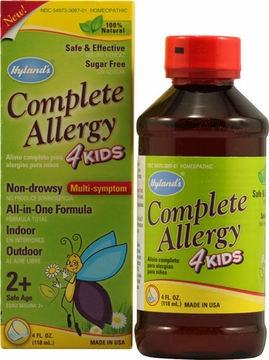 Complete Allergy 4 Kids by Hylands - 4oz.