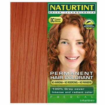 Naturtint Hair Colourants 8C (Copper Blonde) - 5.6 Fluid Ounces