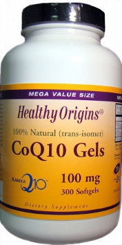 CoQ10 100mg by Healthy Origins - 300 Softgels