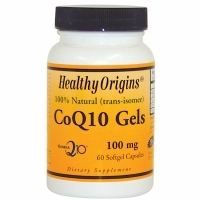 CoQ10 100mg by Healthy Origins - 60 Softgels