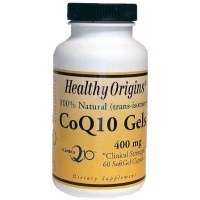 CoQ10 400mg by Healthy Origins - 60 Softgels