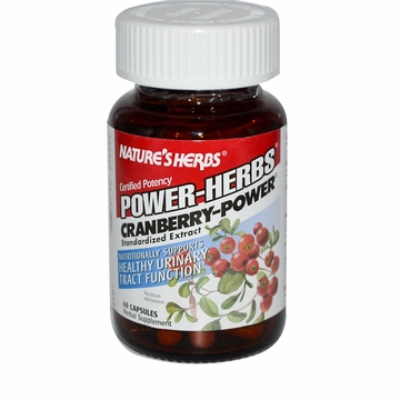 Cranberry Power by Nature's Herbs - 60 Capsules