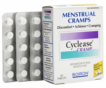Cyclease Cramp Menstrual Cramp Relief by Boiron - 60 Tablets