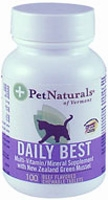 Pet Naturals of Vermont Daily Best for Cats - 100 Chewable Tablets