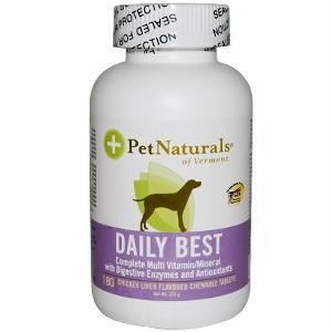 Pet Naturals of Vermont Daily Best for Dogs - 180 Chewable Tablets