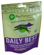 Pet Naturals of Vermont Daily Best for Dogs - 45 Soft Chews