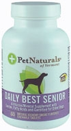 Pet Naturals of Vermont Daily Best Senior for Dogs-60 Chewable Tablets