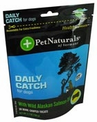 Pet Naturals of Vermont Daily Catch for Dogs - 30 Bone-Shaped Treats