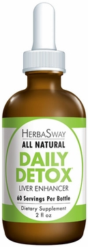 Daily Detox Liver Enhancer by Herbasway - 2oz.