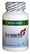 Ultra Herbal Deer Antler Plus - 60 Capsules