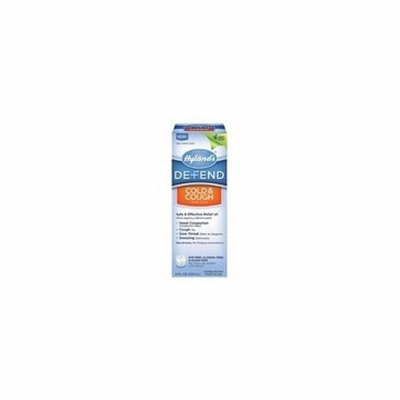 Defend Cough and Cold Liquid by Hylands - 8oz.