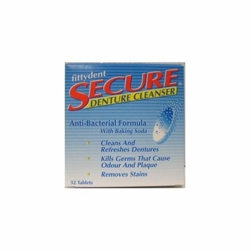 Denture Cleanser by Secure - 32 Tablets