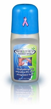 Deodorant Crystal Roll On by Naturally Fresh - 3 oz.