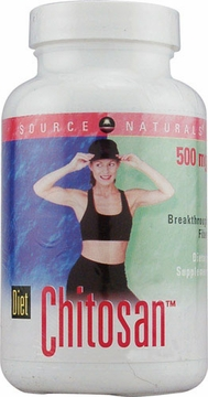 Source Naturals Diet Chitosan Picture Label 500 mg - 60 Capsules