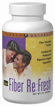 Source Naturals Diet Fiber Re:Fresh Powder - 309 Grams