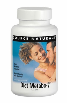 Source Naturals Diet-Metabo-7 - 90 Tablets