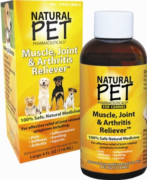 Dog Muscle Joint Arthritis by King Bio - 4oz.