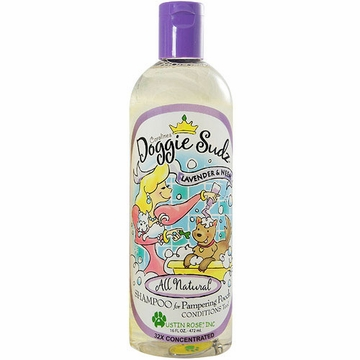 Austin Rose Caroline's Doggie Sudz Shampoo (Lavender and Neem) - 16 Ounces