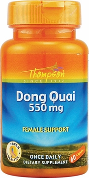 Thompson Nutritional Dong Quai 550 mg - 60 Capsules